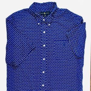 XXl polo button up shirt